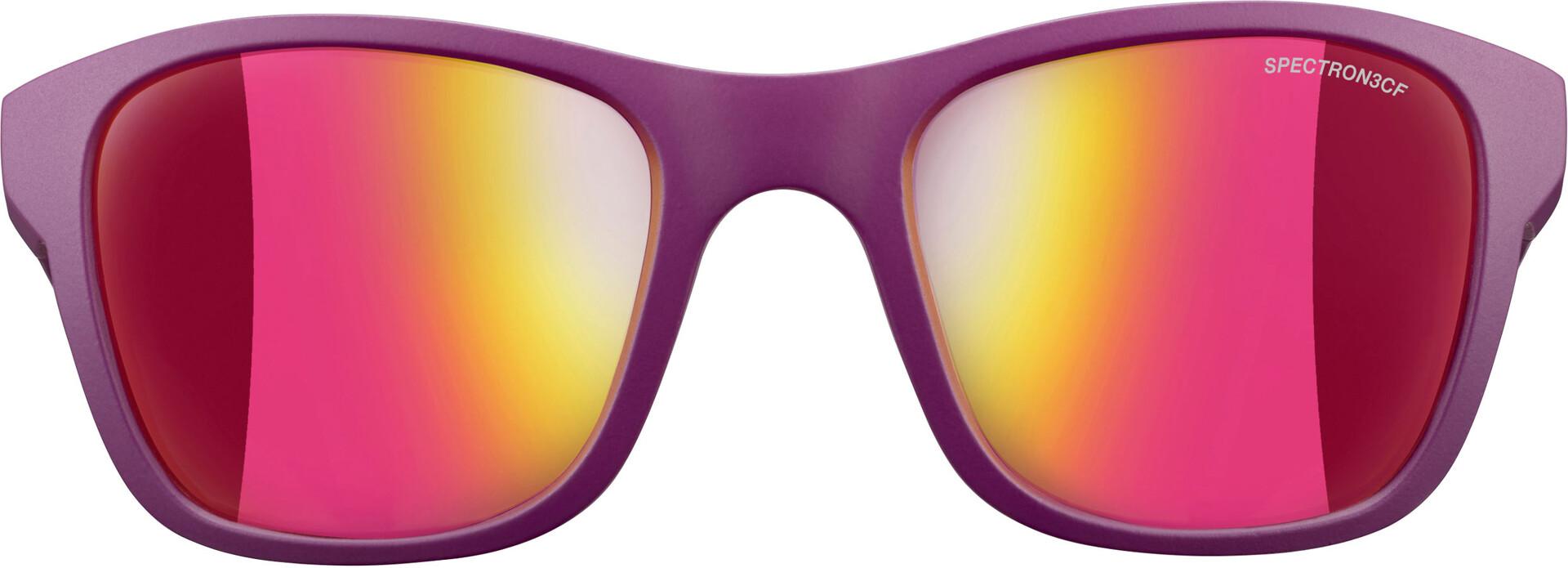 Julbo Reach Spectron 3CF Solbriller 6 10Y Børn, matt purple multilayer pink